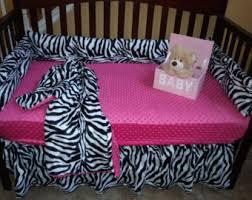 Pink Zebra Crib Bedding Pink Zebra Crib Bedding Etsy