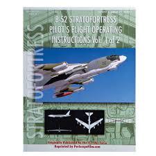 b 52 stratofortress pilot u0027s operating manual 2 book set