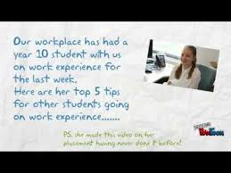 top 5 tips for preparing for your work experience youtube