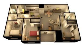 3 bedroom floor plan u2013 bedroom at real estate