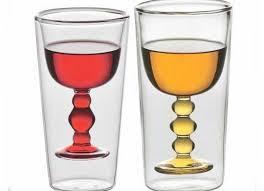bicchieri design per una tavola di design