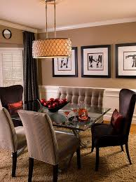 dining room remarkable tufted dining room loveseat facing