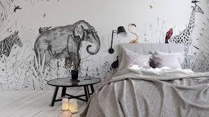 papier peint deco chambre papier peint tendance les plus beaux modèles déco et conseils de