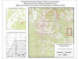 Montana Map by Map Of Emigrant Gulch Mining Montana News Billingsgazette Com