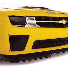 camaro light covers 2010 2013 camaro ss bumble bee style smoked lexan blackout fog