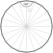 Interior Angle Sum Of A Decagon Icosagon Wikipedia