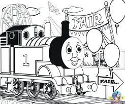 thomas coloring pages emily printable train tank engine christmas
