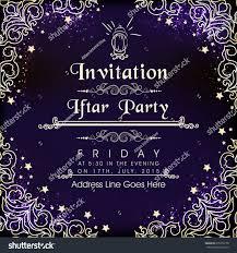 Invite Card Design Beautiful Floral Card Decorated Invitation Card Stock Vector