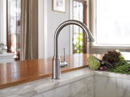hans grohe kitchen faucets hansgrohe 04215830 nickel talis c pull kitchen faucet mega