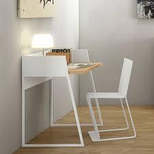 Modern Oak Desk Volga Modern Oak White Desk By Temahome Eurway Furniture