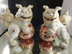 gold foo dogs pair of foo dogs antiques foo dog and modern ceramics