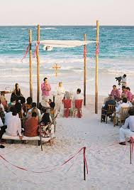 goes wedding cool beach decoration ideas for wedding ceremony