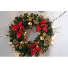 of flocked wreath reviews wayfair