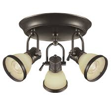 3 light canopy kit hton bay brookhaven 10 in 3 light oil rubbed bronze canopy track