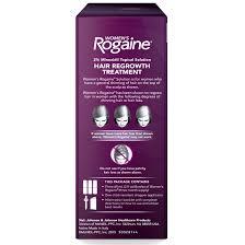 rogaine women u0027s minoxidil hair thinning u0026 loss treatment foam 3