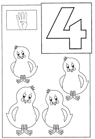free coloring pages number 2 numbers 11 20 printable number 4 coloring page pages 1 of animals