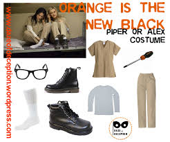 Oitnb Halloween Costumes Orange Black Costume Halloween Black