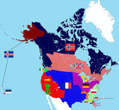 Map Of North America Countries by North America Measured In European Countries By Population 2608