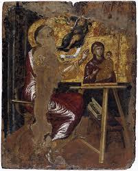 el greco domenikos theotokopoulus st luke painting the virgin