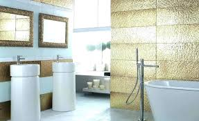 wall decorating ideas for bathrooms white and gold bathroom wall decor black white and gold bathroom