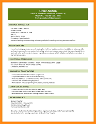 Best Resume For College Graduate by 4 Resume Format For Fresh Graduate Mystock Clerk