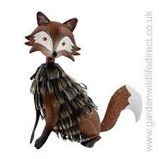 fox garden ornament garden wildlife direct