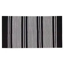 Black And White Stripped Rug Decorative Striped Rug Target