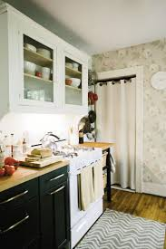 176 best kitchen images on pinterest kitchen kitchen ideas and home the kitchen sports a rescued and refinished cabinet and butcher block countertops from ikea