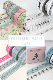Decorative Scotch Tape 181 Best Washi Tape Galore Images On Pinterest Masking Tape
