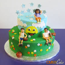 brothers and sisters in the park birthday cake cmny cakes