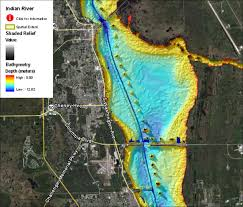 Indian River Florida Map by Quick And Easy Bathymetric Data In Google Earth Sea Grant Gis