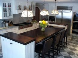 two level kitchen island kitchen island with seating for 2 kitchen two tier kitchen islands
