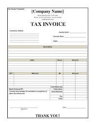 free australian tax invoice template denryoku info