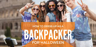 how to dress up as a backpacker for halloween the backslackers