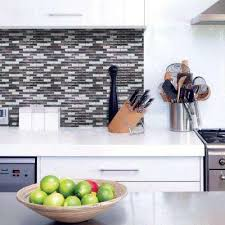 kitchen backsplash stick on tiles tile backsplashes tile the home depot