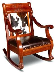 homcom pu leather rocking sofa chair recliner leather rocking chair western hair on hide and leather rocking chair