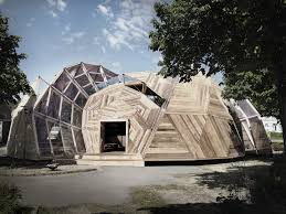 Geodesic Dome House Tejlgaard U0026 Jepsen Transform A Temporary Geodesic Dome Into A