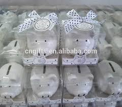 Baptism Piggy Bank Ceramic Piggy Money Saving Banks Coin Box For Christening Gifts