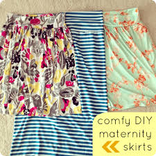 maternity skirts comfy diy maternity skirts