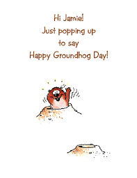 popping greeting card groundhog printable card american