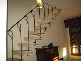 ringhiera per scala ringhiera in ferro battuto per scale interni parapetti a piove