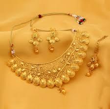 gold necklace sets images Gold necklace set breakpoint me jpg