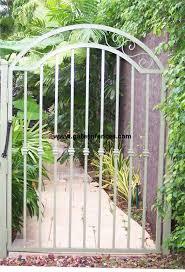 Garden Gates Decorative Gates Wrought Iron Aluminum Garden Custom