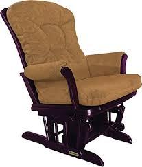 amazon com shermag recliner glider chair cherry honey baby