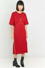 marios maxi t shirt dress with strings urban outfitters