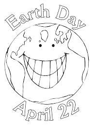 information world earth day coloring pages 2012