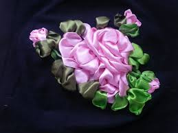 ribbon embroidery flower garden ribbon embroidery online tutorials welcome to the world of arts