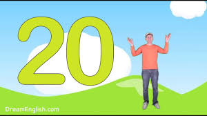 counting numbers 1 to 20 let s count to 20 song for