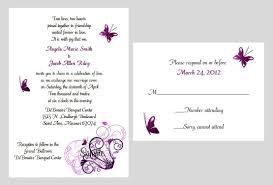 34 purple butterfly wedding invitations vizio wedding