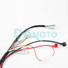 full electrics wiring harness cdi coil 110cc 125cc atv quad bike